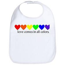 Love Rainbow Bib