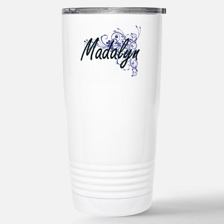 Madalyn Artistic Name D Travel Mug