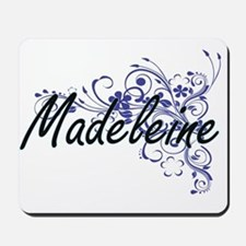 Madeleine Artistic Name Design with Flow Mousepad