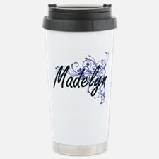 Madelyn Artistic Name D Travel Mug