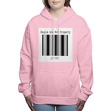Cute Abolitionist Women's Hooded Sweatshirt