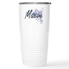 Maeve Artistic Name Des Travel Mug