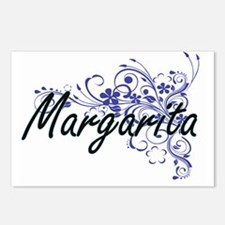 Margarita Artistic Name D Postcards (Package of 8)