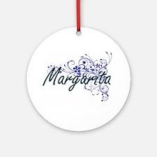 Margarita Artistic Name Design with Round Ornament