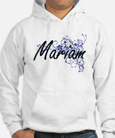 Mariam Artistic Name Design with Hoodie Sweatshirt