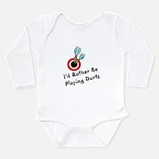Cool Darts Long Sleeve Infant Bodysuit