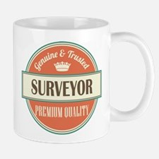surveyor vintage logo Mug
