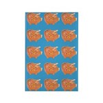 Vintage Toy Pig Art Rectangle Magnet (10 pack)