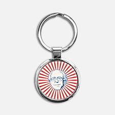 Emit the Bern Round Keychain