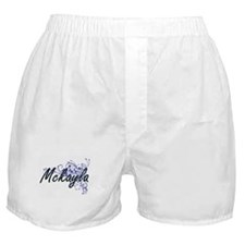 Mckayla Artistic Name Design with Flo Boxer Shorts