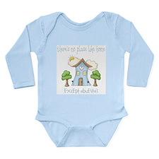 Cute Casa Long Sleeve Infant Bodysuit