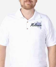 Mckenzie Artistic Name Design with Flow T-Shirt