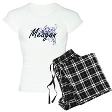 Meagan Artistic Name Design Pajamas