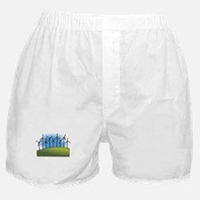 i love heart wind power windmills.png Boxer Shorts