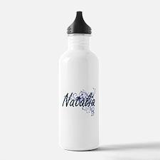 Natalia Artistic Name Water Bottle