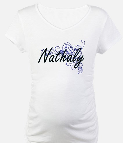 Nathaly Artistic Name Design wit Shirt