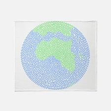 Carbon Footprint Throw Blanket