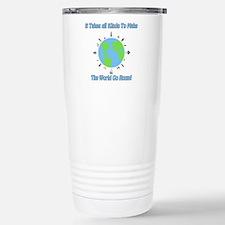 Around the World Travel Mug