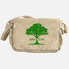 Save a Tree Messenger Bag