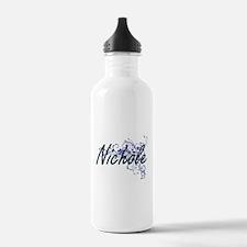 Nichole Artistic Name Water Bottle