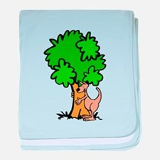 Kangaroo Tree Hugger baby blanket