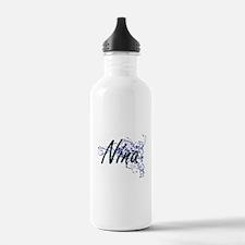 Nina Artistic Name Des Water Bottle