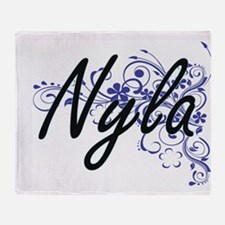 Cute Nyla Throw Blanket
