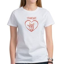 TENNESSEE (hand sign) Tee