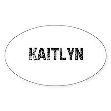 Kaitlyn Oval Decal