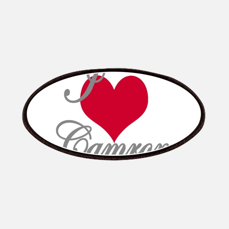 I love (heart) Camron Patch