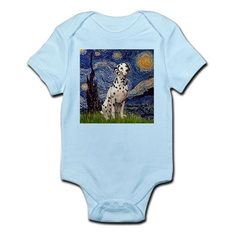 Starry Night & Dalmatian Infant Creeper