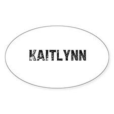 Kaitlynn Oval Decal