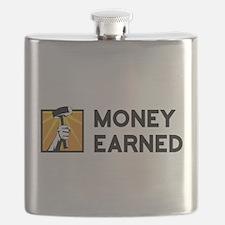 Money Earned Logo Flask