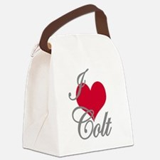 I love (heart) Colt Canvas Lunch Bag