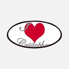 I love (heart) Cristopher Patch