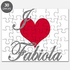 I love (heart) Fabiola Puzzle