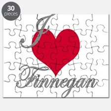 I love (heart) Finnegan Puzzle