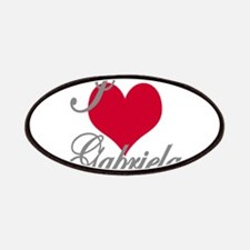 I love (heart) Gabriela Patch