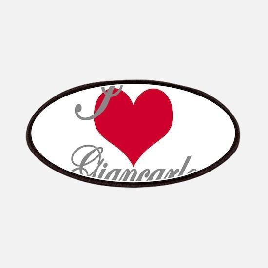 I love (heart) Giancarlo Patch