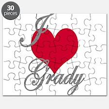 I love (heart) Grady Puzzle
