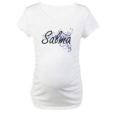 Salma Artistic Name Design with Shirt