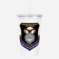 USAF Security Forces Acrylic Double-wall Tumbler