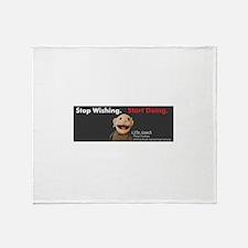 Morty Greenbaum Throw Blanket