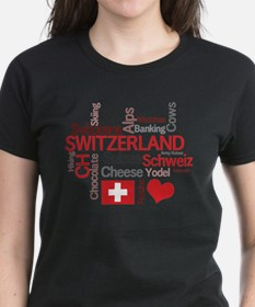 Cute I love switzerland Tee