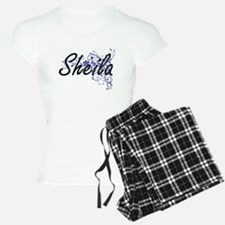 Sheila Artistic Name Design Pajamas