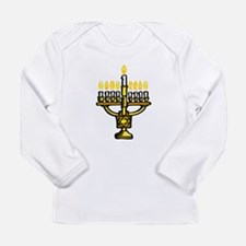 100%jewcy pink copy.png Long Sleeve Infant T-Shirt