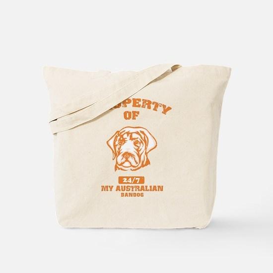 Australian Bandog Tote Bag
