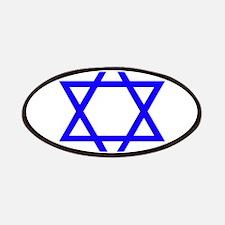 Blue Star of David Patch