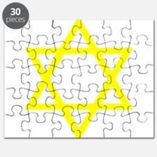Yellow Star of David Puzzle