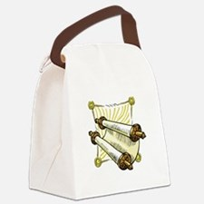 100%jewcy pink copy.png Canvas Lunch Bag